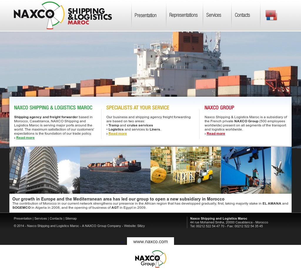 Naxco Shipping And Logistics Maroc Competitors, Revenue and