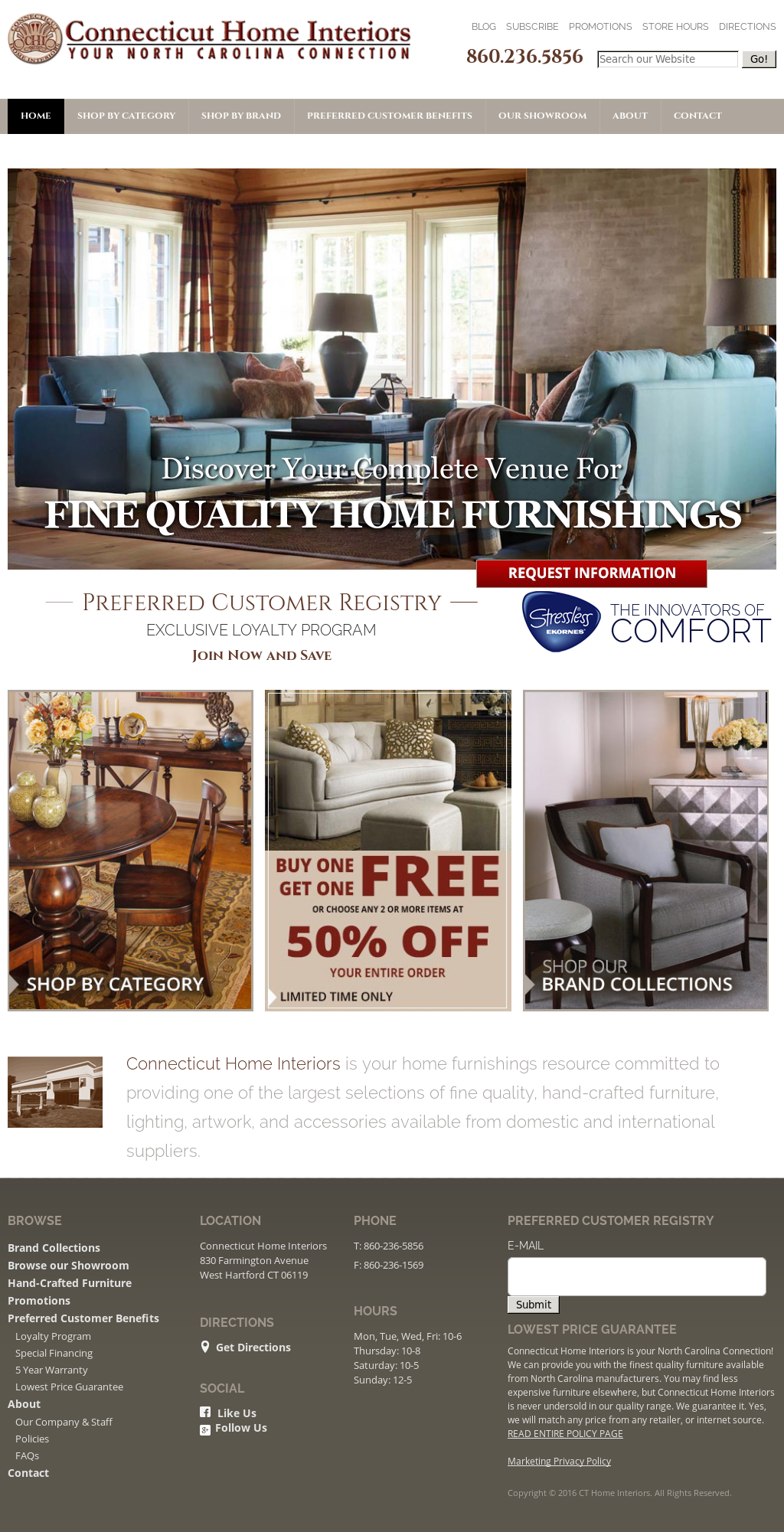 connecticut home interiors competitors revenue and employees