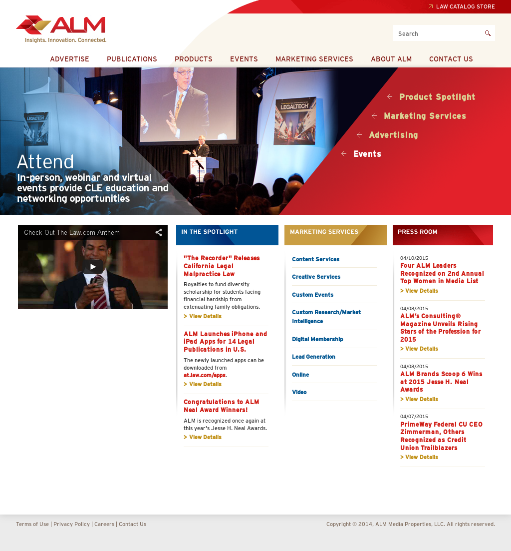 ALM Media Properties Competitors, Revenue and Employees
