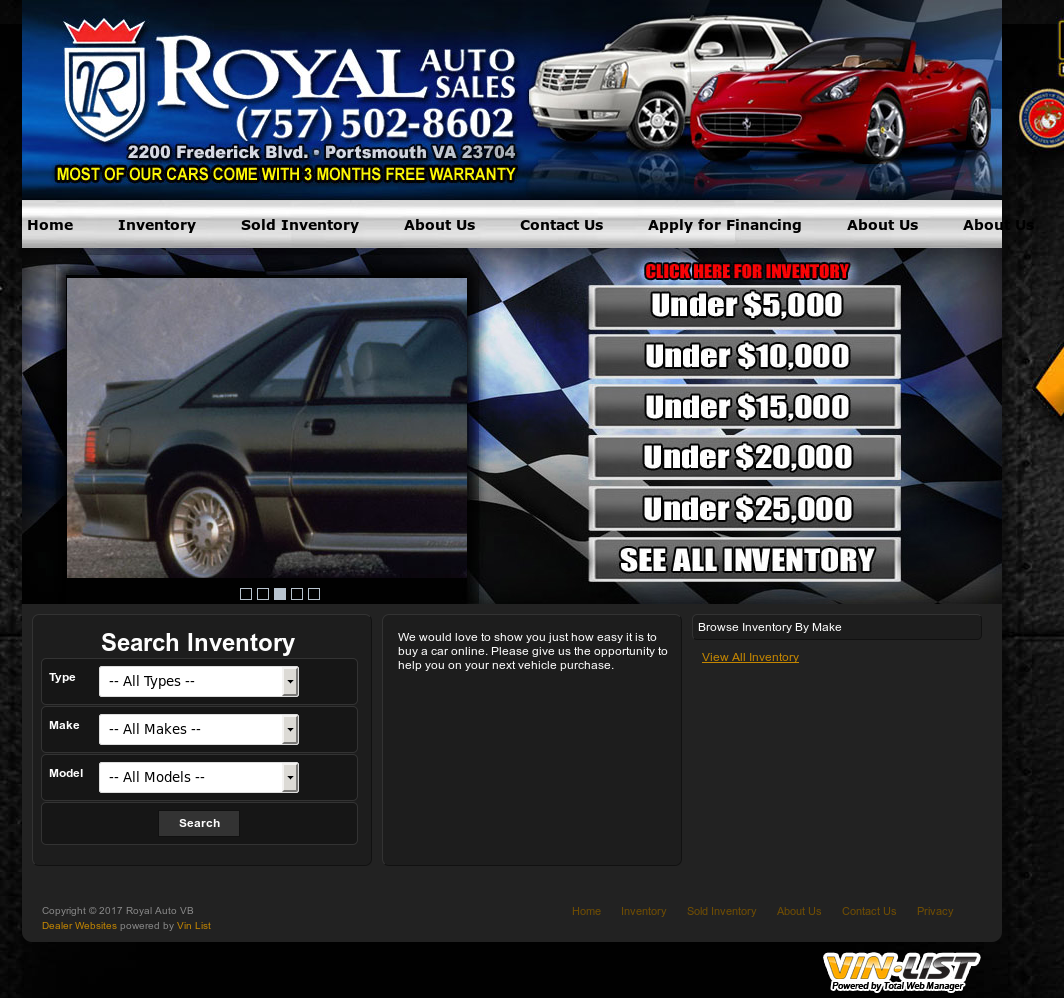 Royal Auto Vb Competitors, Revenue and Employees - Owler Company Profile