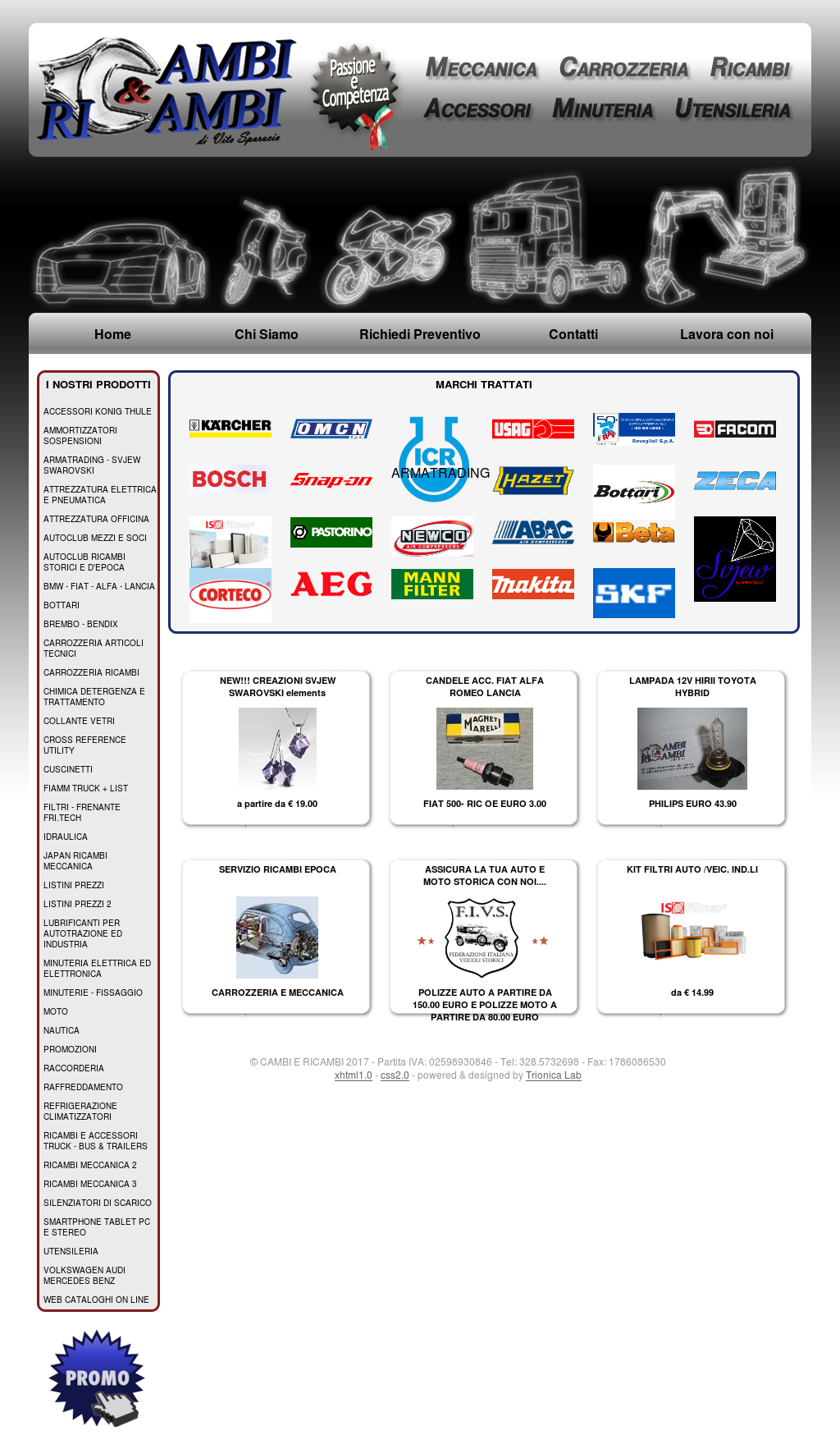 Cambi E Ricambi Competitors, Revenue and Employees - Owler Company