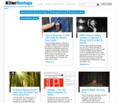 KillerStartups website history