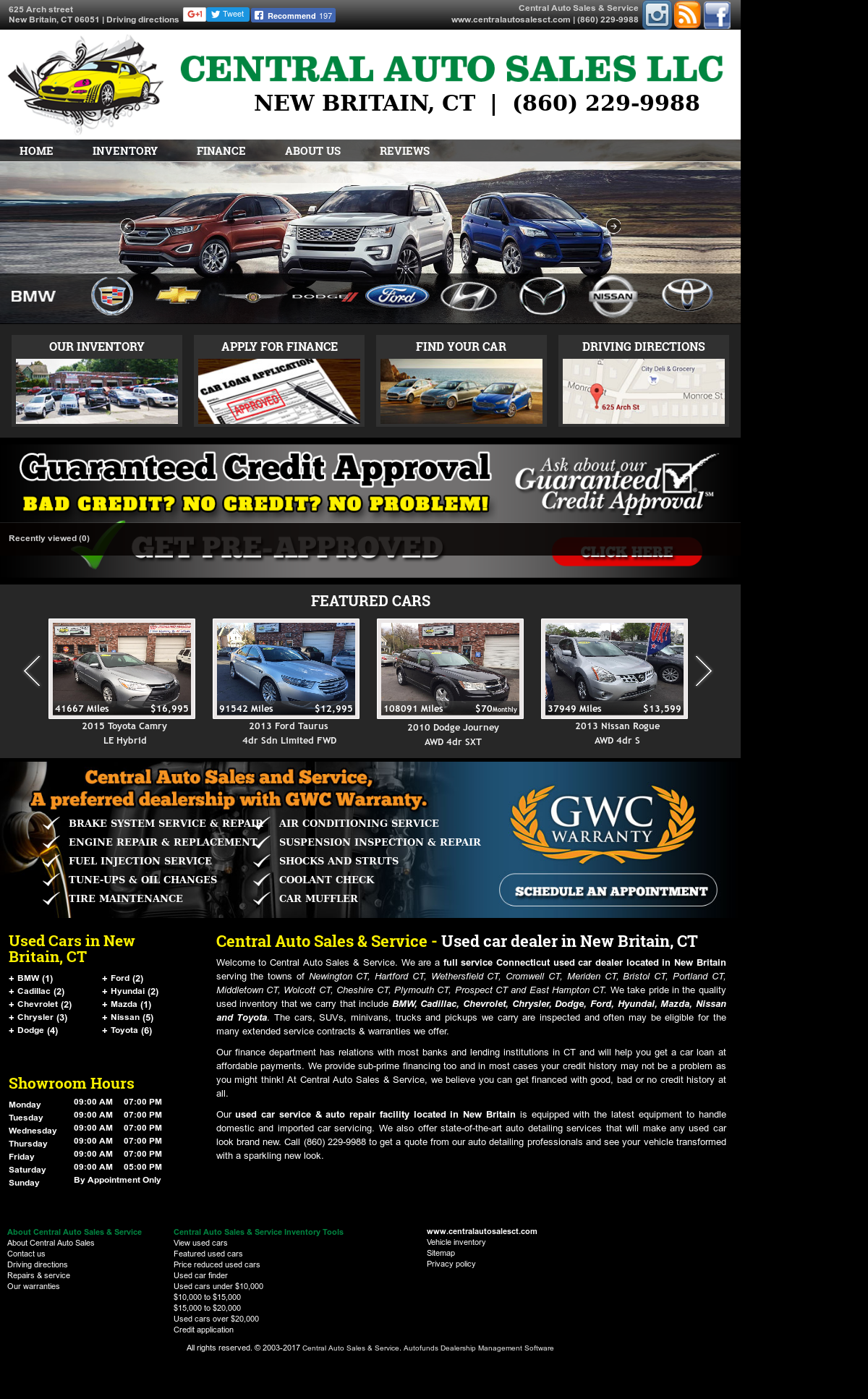 Central Auto Sales >> Central Auto Sales Service Competitors Revenue And Employees