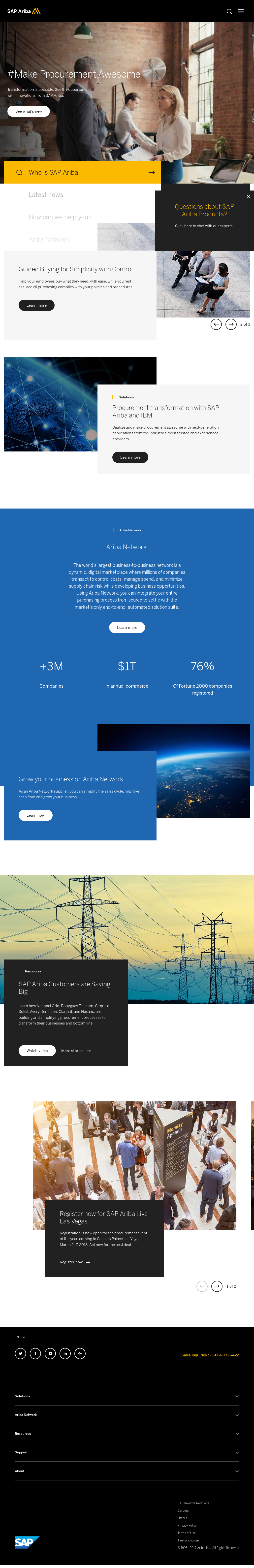 Ariba Competitors, Revenue and Employees - Owler Company Profile