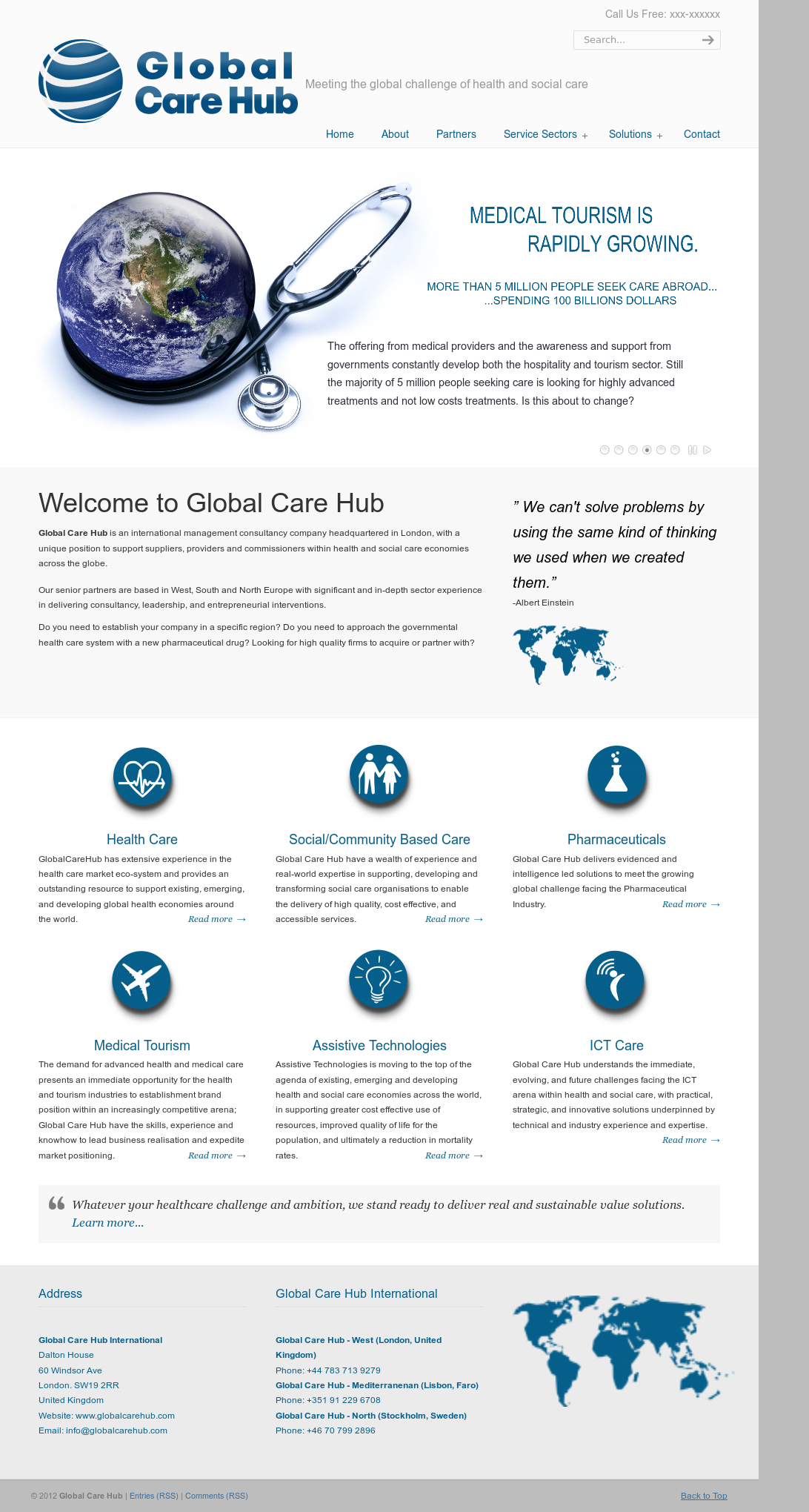 1ea2ff938e04 Global Care Hub Competitors