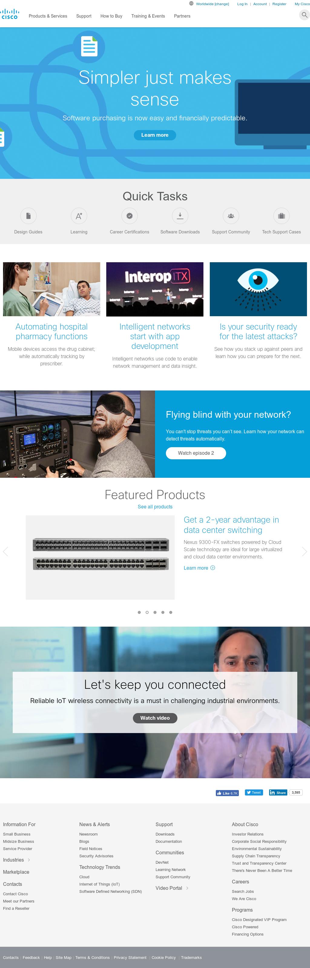 Cisco Competitors, Revenue and Employees - Owler Company Profile