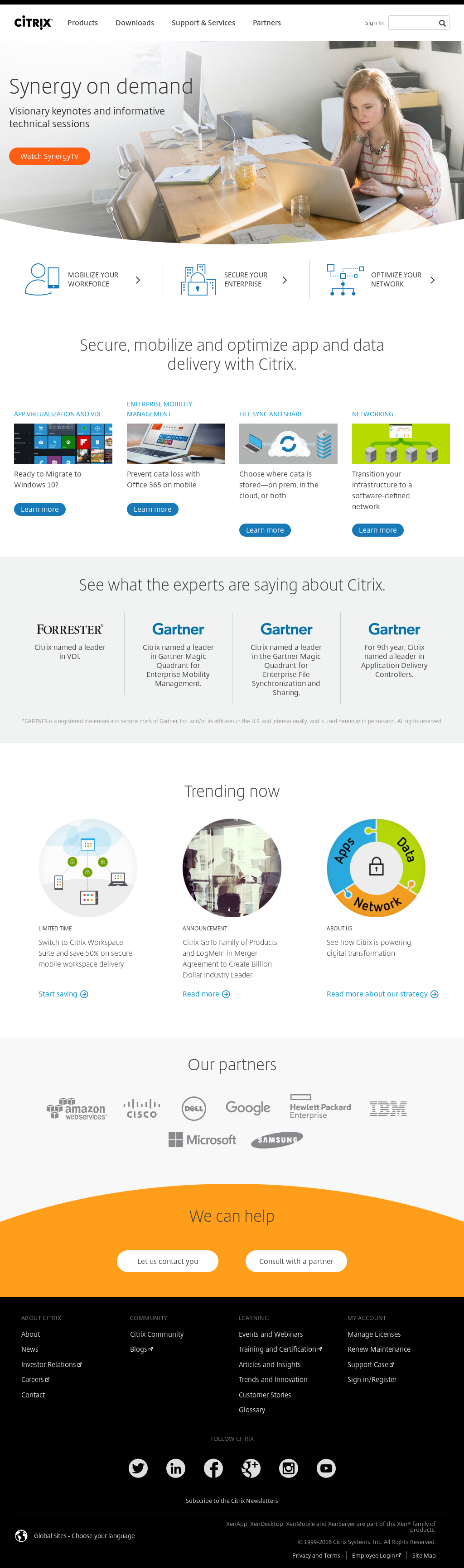 Citrix Competitors, Revenue and Employees - Owler Company