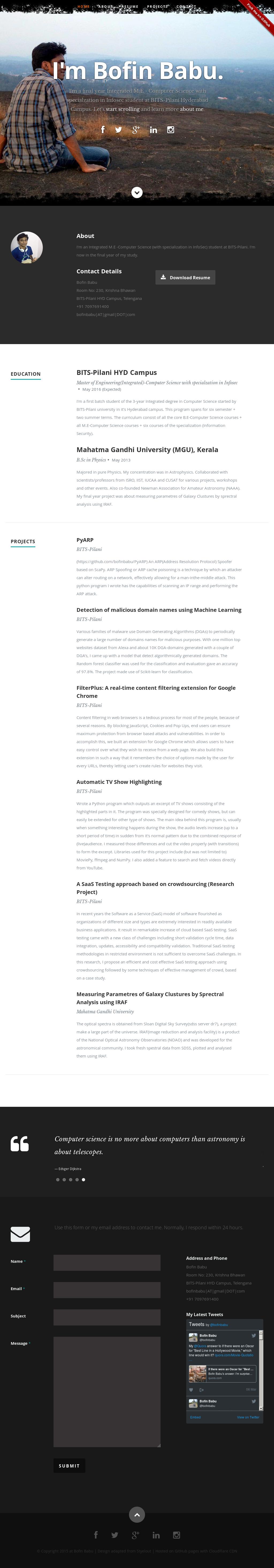 Bofin Babu Competitors, Revenue and Employees - Owler Company Profile