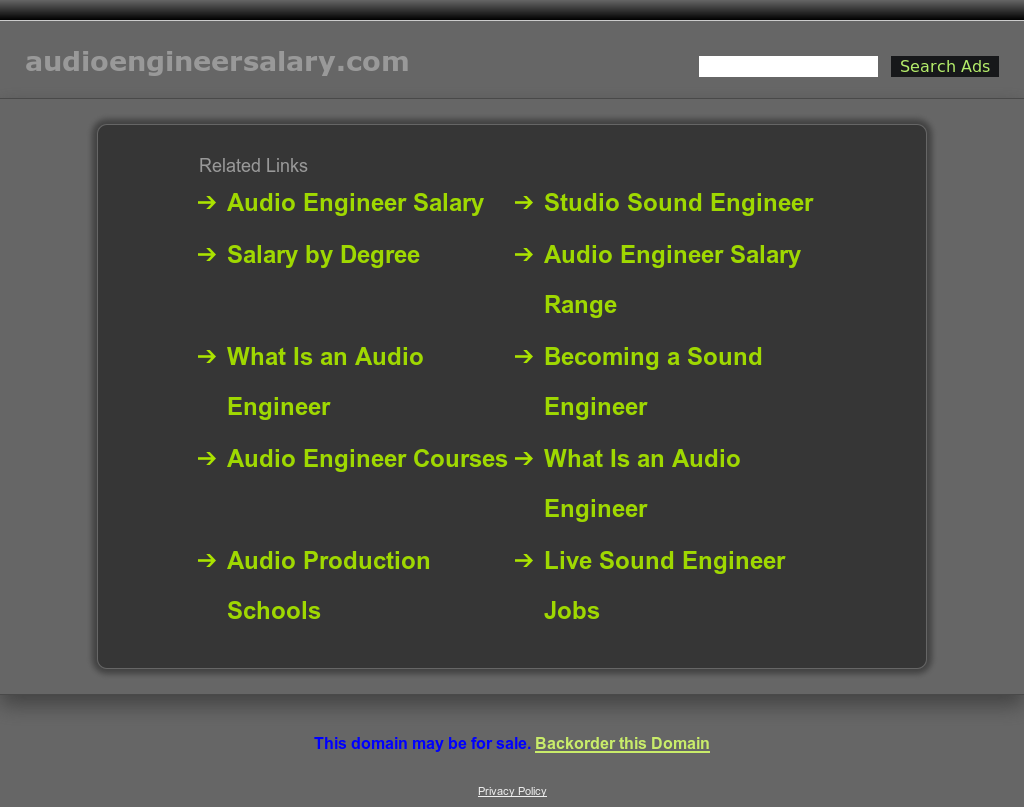 audio engineer salary competitors revenue and employees owler company profile