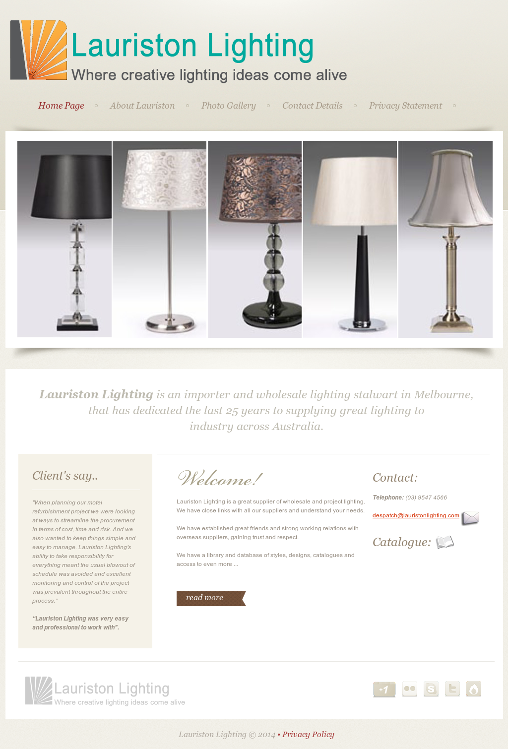 Lauriston Lighting Compeors Revenue And Employees