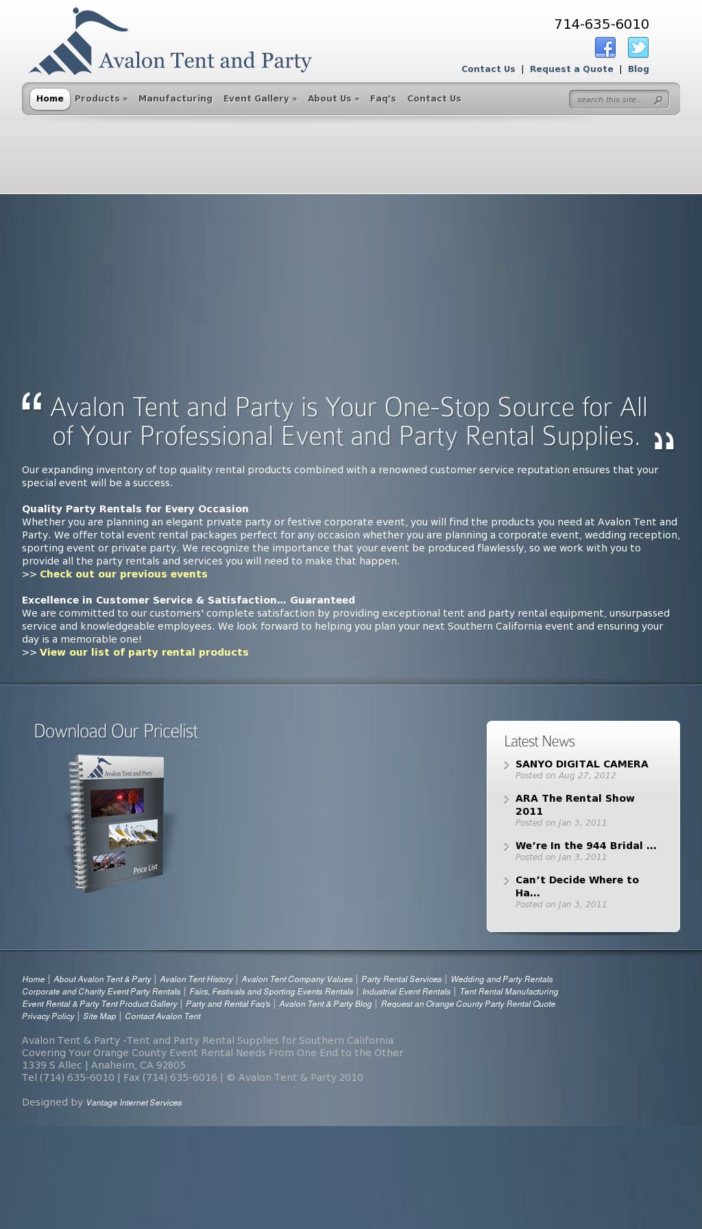 Avalon Tent and Party Competitors Revenue and Employees - Owler Company Profile & Avalon Tent and Party Competitors Revenue and Employees - Owler ...