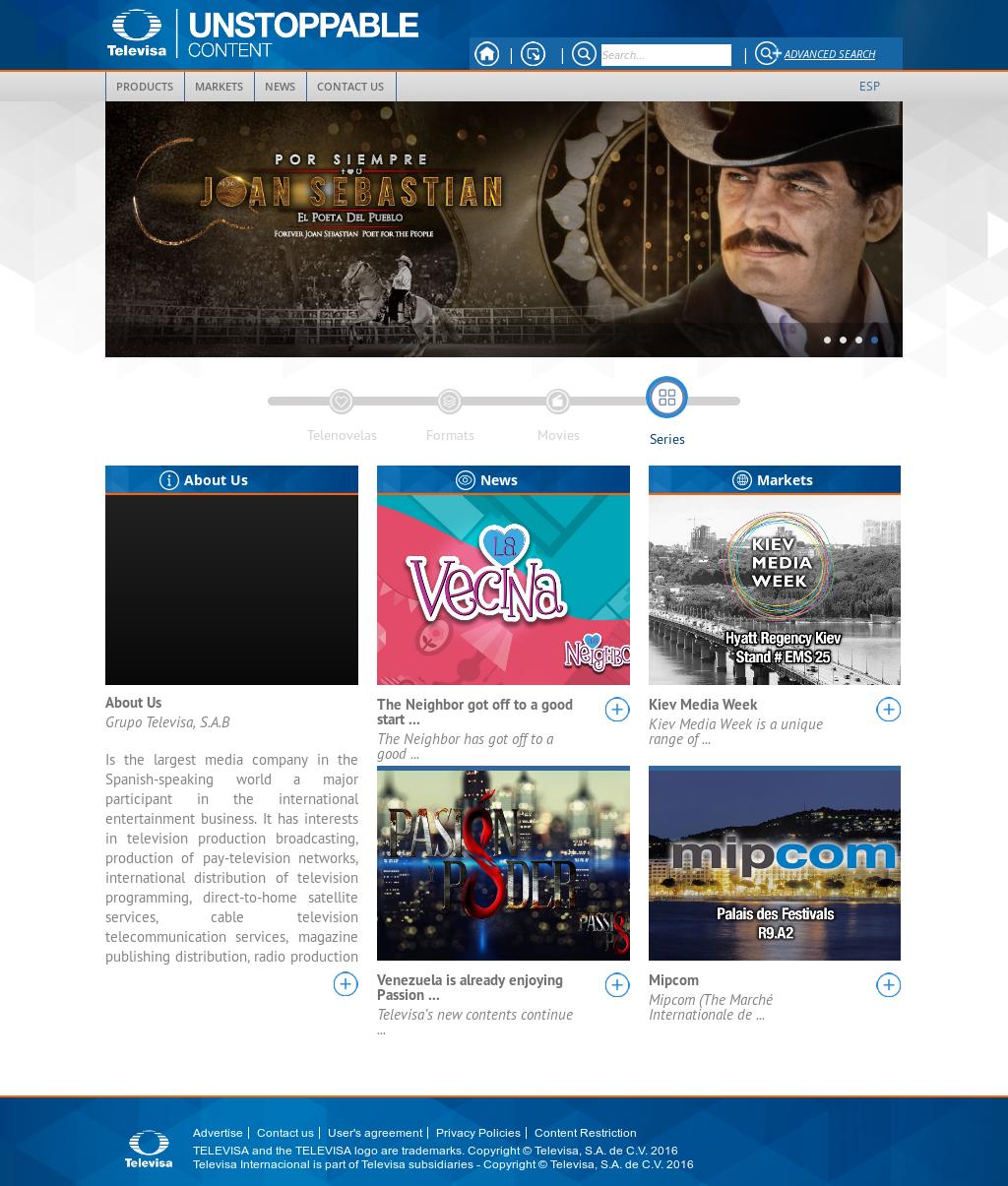 Televisa Internacional Competitors, Revenue and Employees