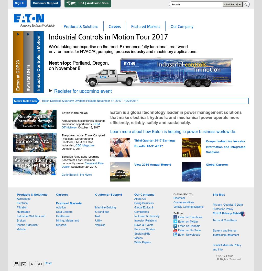 Eaton Competitors, Revenue and Employees - Owler Company Profile