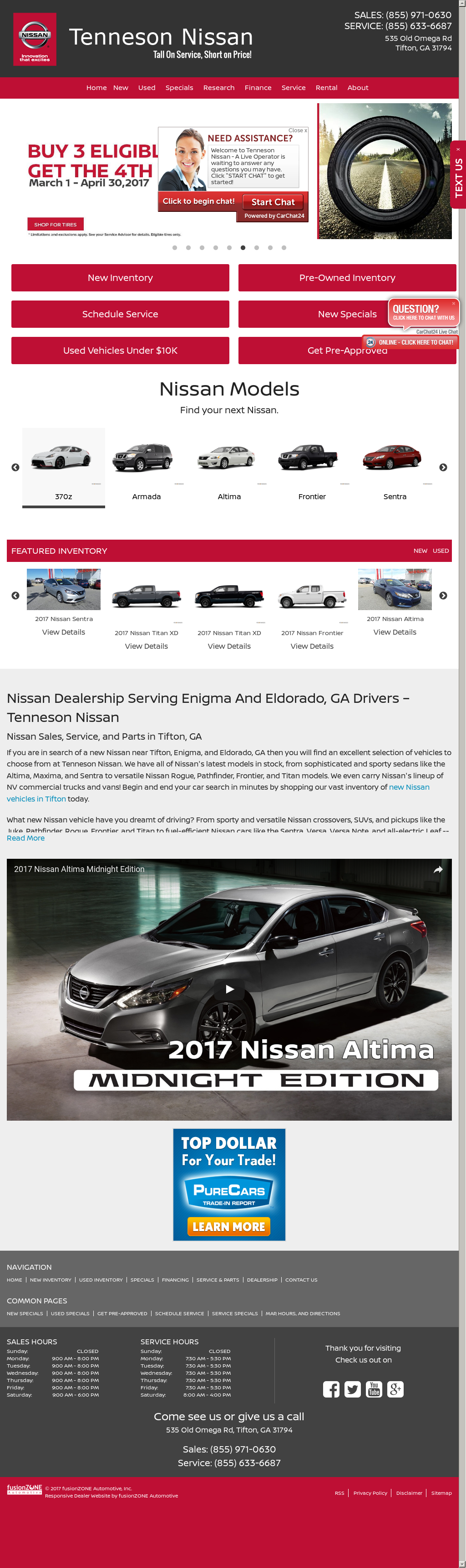 Source · Tenneson Nissan Competitors Revenue And Employees Owler Company
