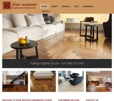 Four Seasons Hardwood Floors Website History