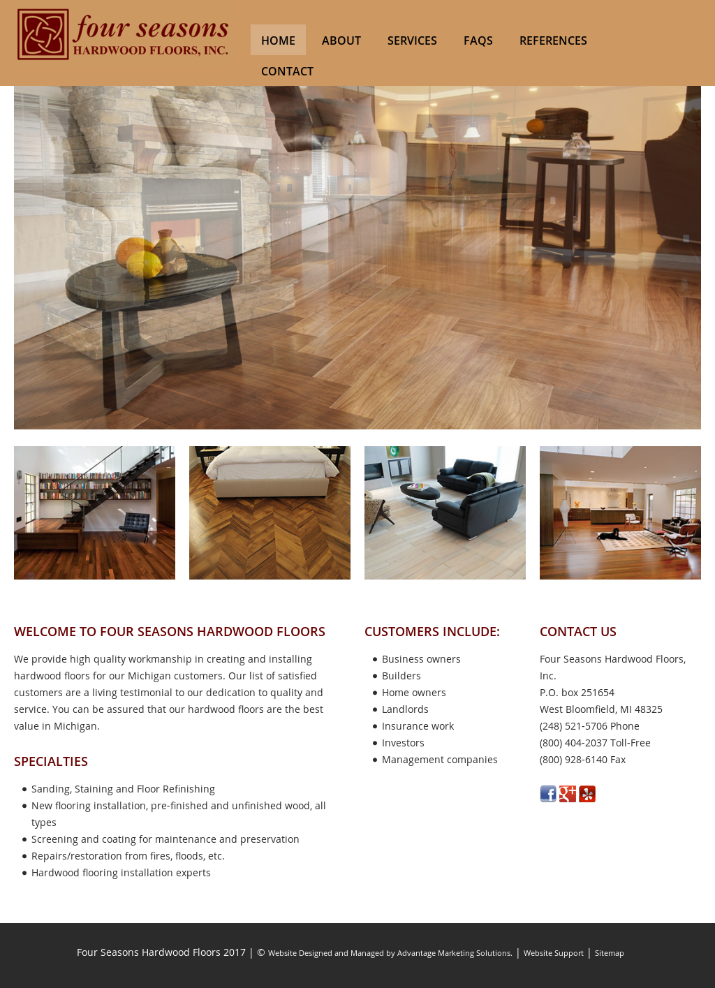 Four Seasons Hardwood Floors Compeors Revenue And Employees Owler Company Profile