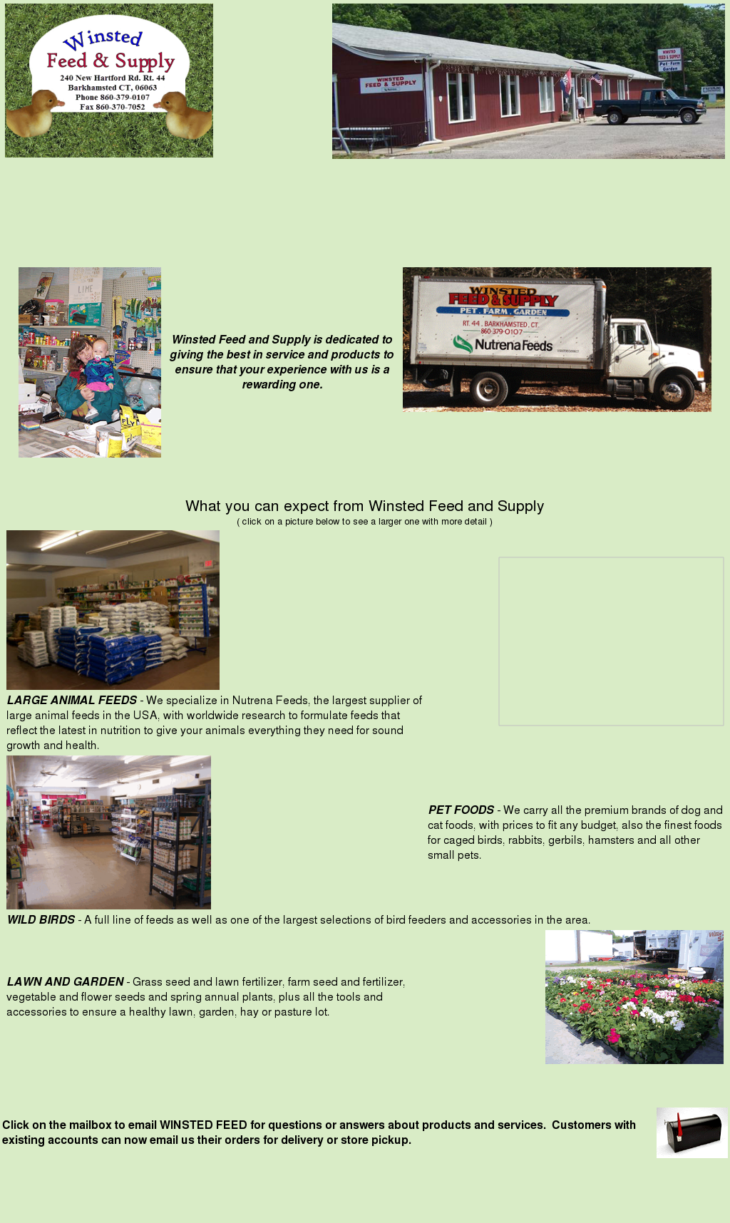 Winsted Feed and Supply Competitors, Revenue and Employees