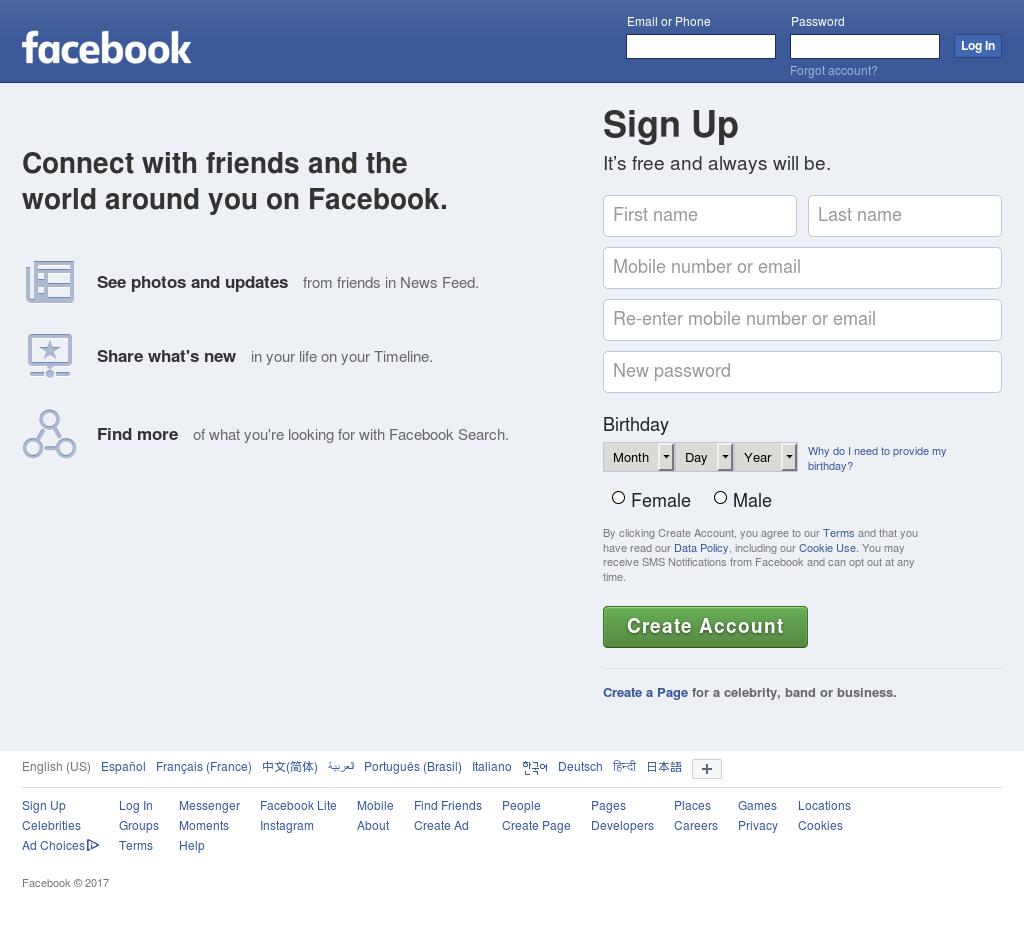 505756f0e33e Facebook Competitors