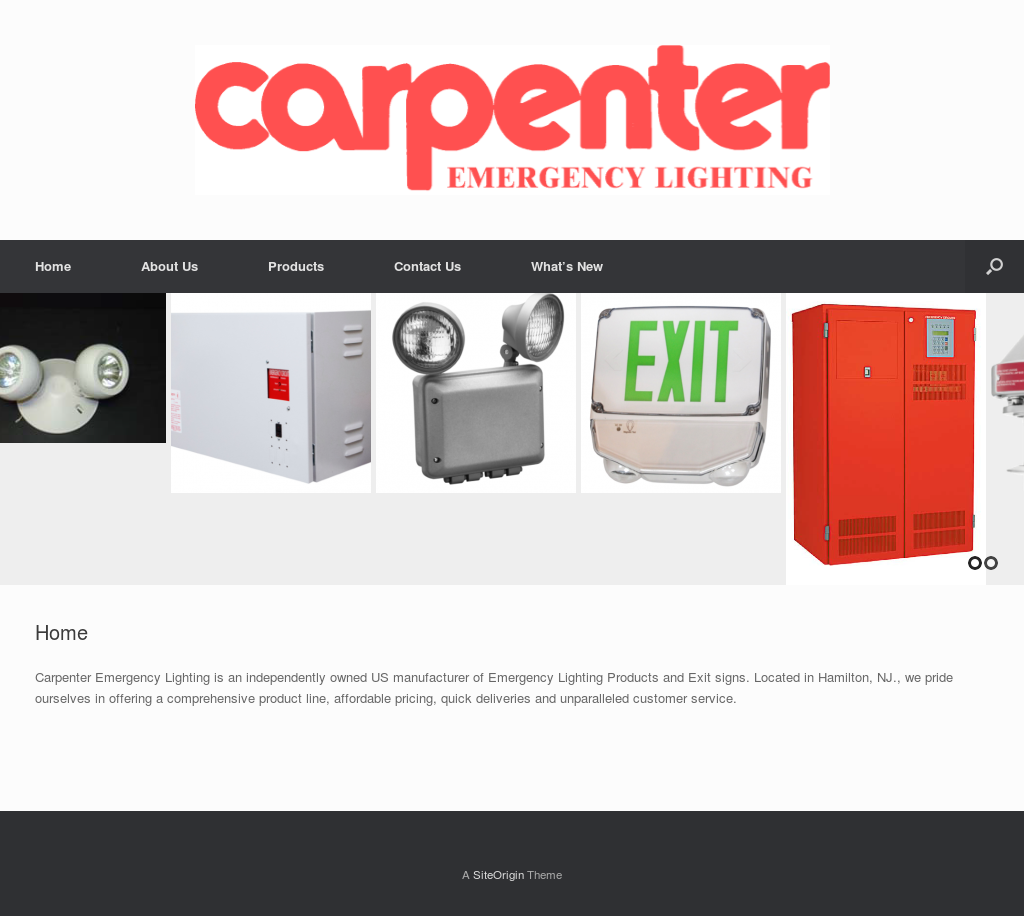 Carpenter Emergency Lighting Compeors Revenue And