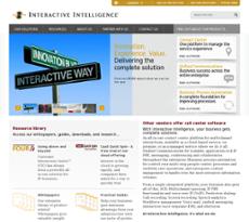 Genesys website history