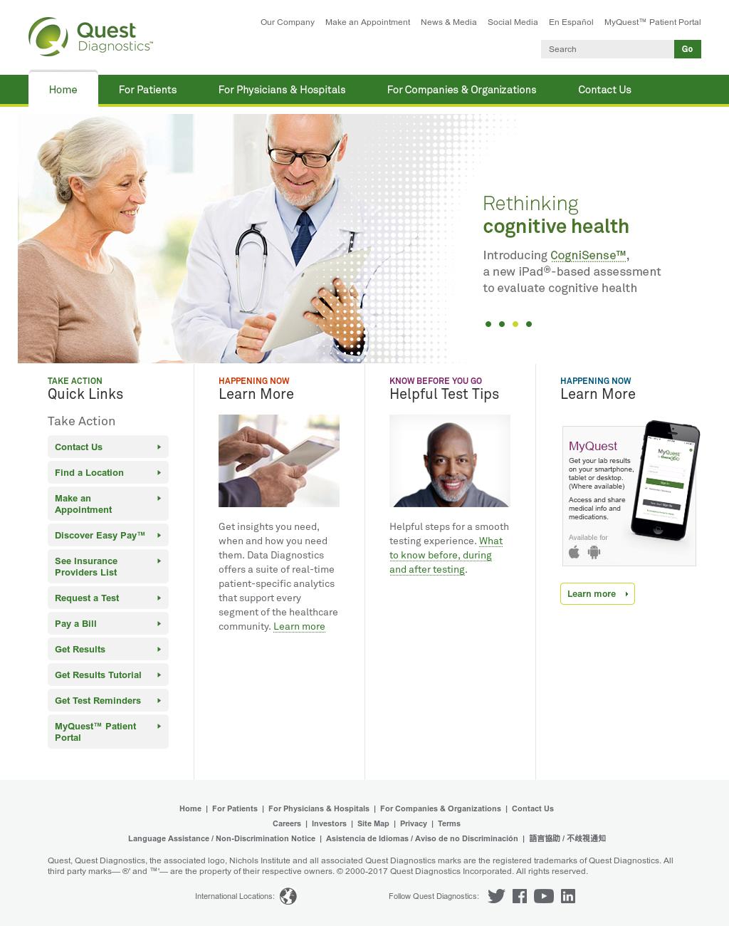 Quest Diagnostics Competitors, Revenue and Employees - Owler