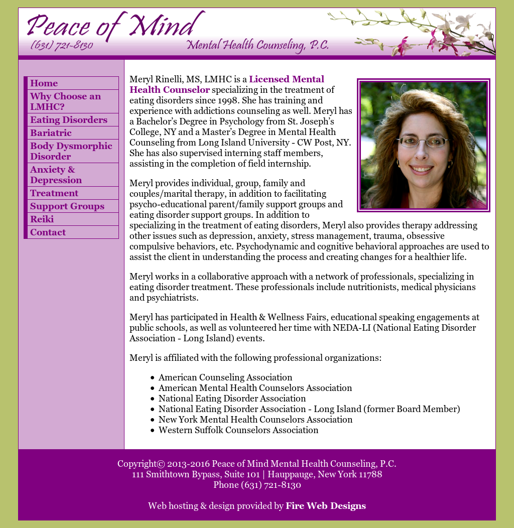 Peace Of Mind Mental Health Counseling Competitors Revenue And