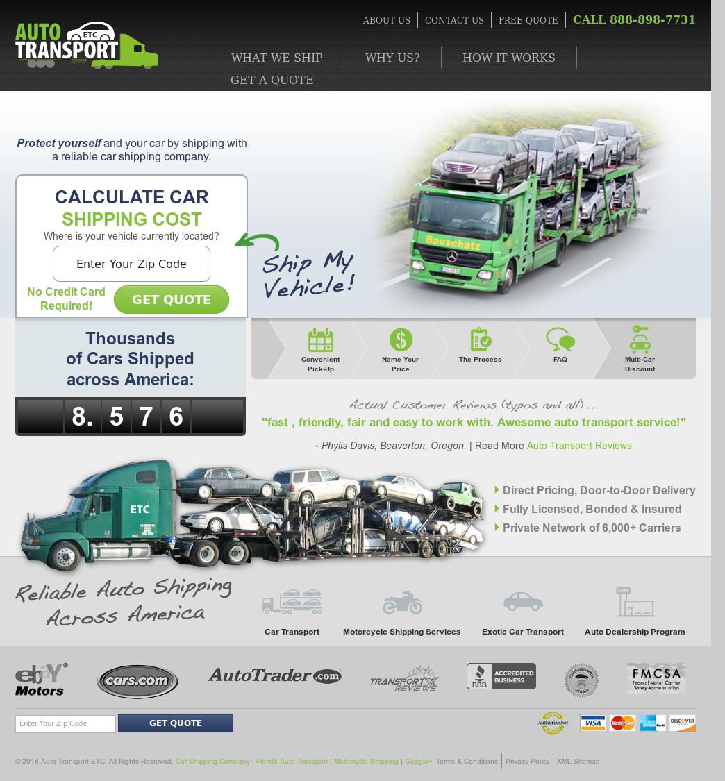 auto transport etc competitors revenue and employees owler