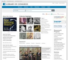 LOC website history