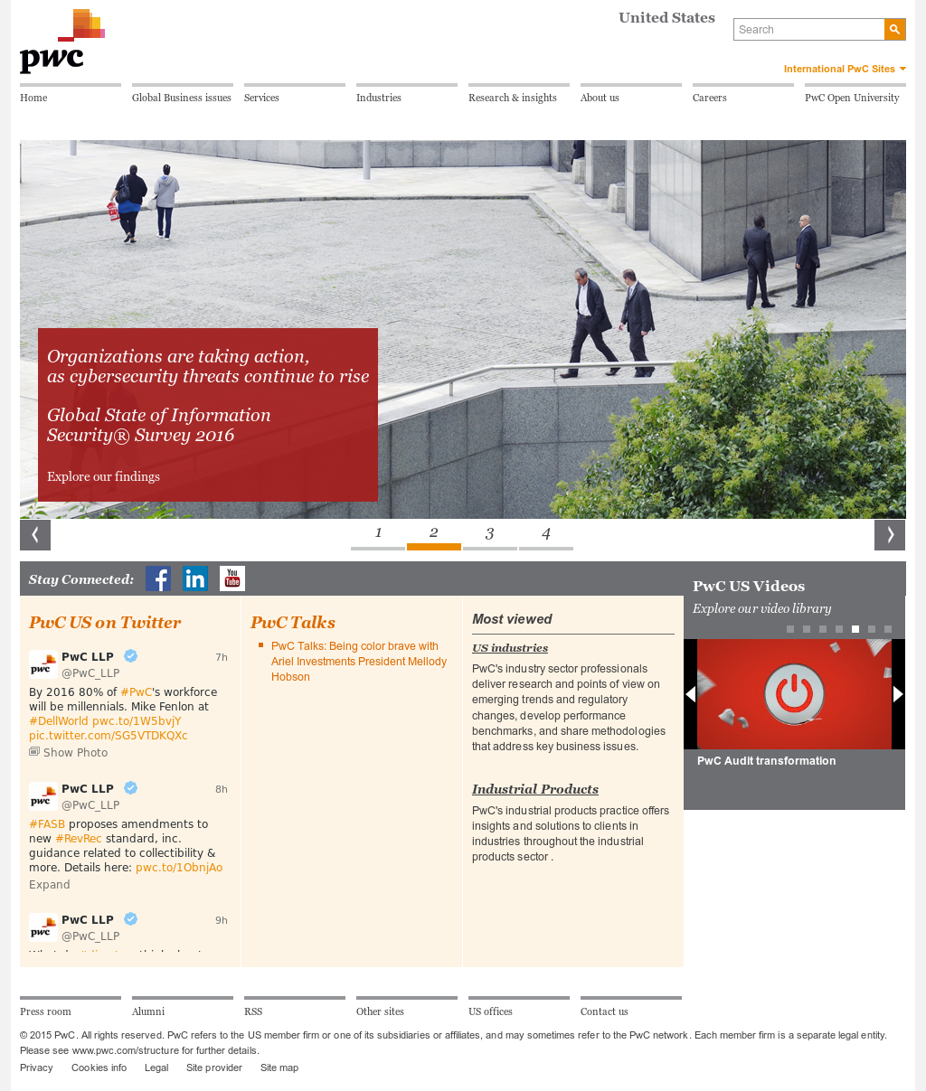 PwC Competitors, Revenue and Employees - Owler Company Profile