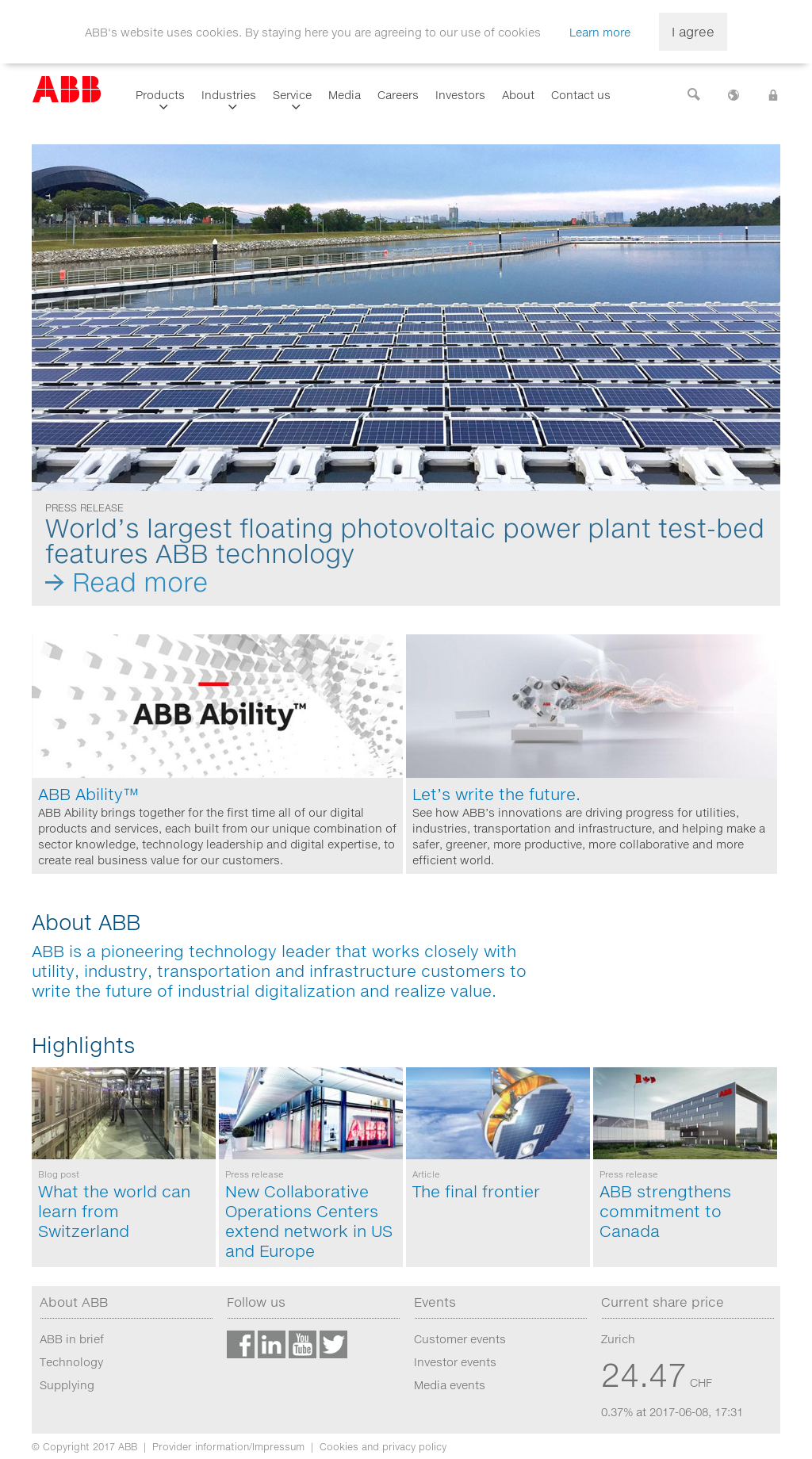 ABB Competitors, Revenue and Employees - Owler Company Profile