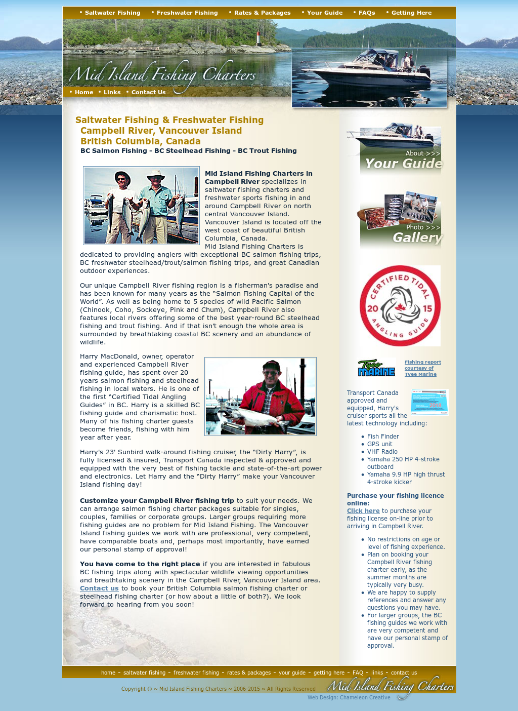 Mid Island Fishing Charters Competitors, Revenue and
