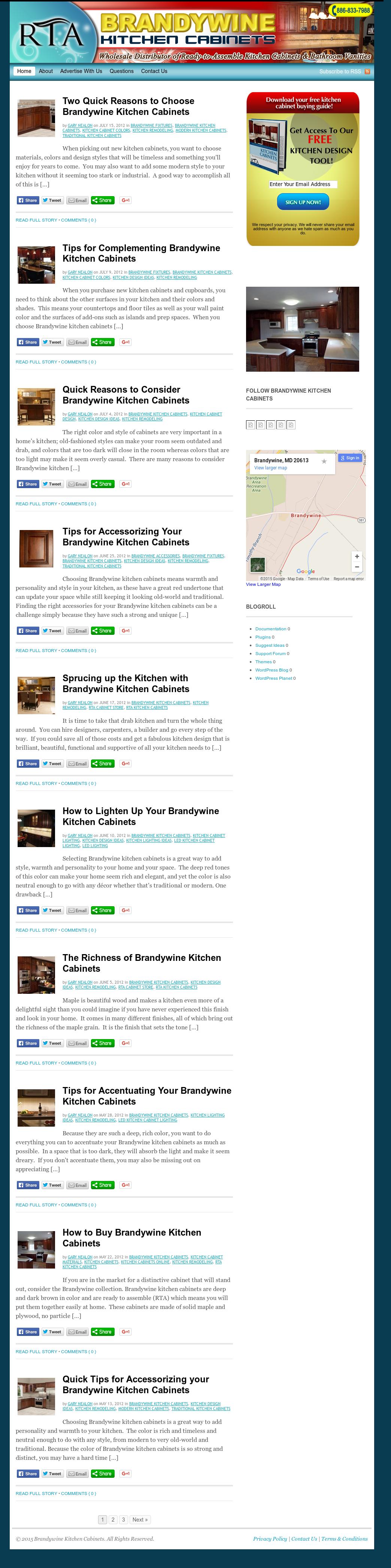 Brandywine Kitchen Cabinets Competitors Revenue And