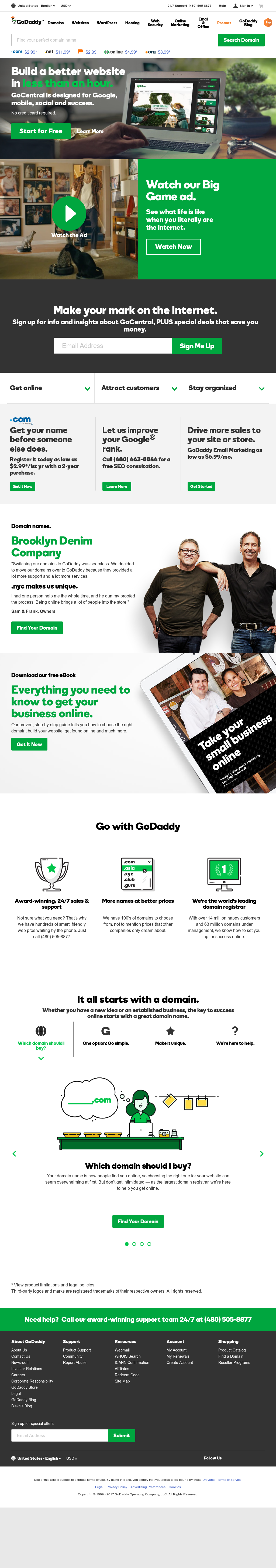 GoDaddy Competitors, Revenue and Employees - Owler Company
