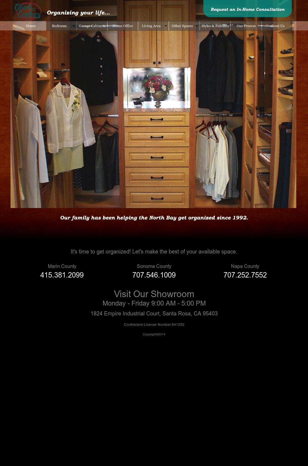 Closet Crafters Santa Rosa Best Decor 2018