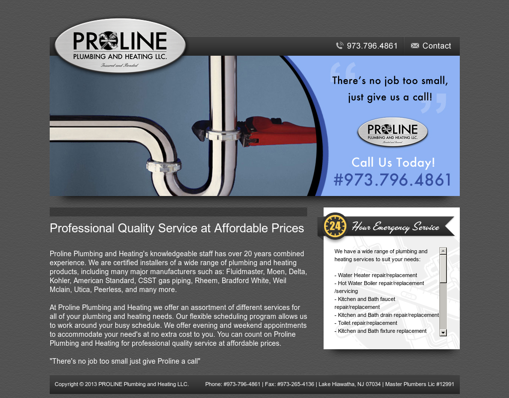 Proline Plumbing And Heating Competitors, Revenue and Employees ...