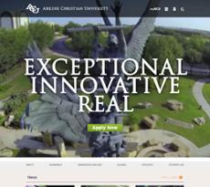 ACU website history