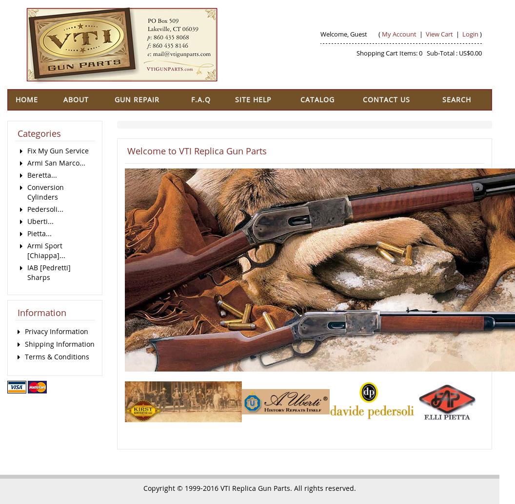 VTI Replica Gun Parts Competitors, Revenue and Employees