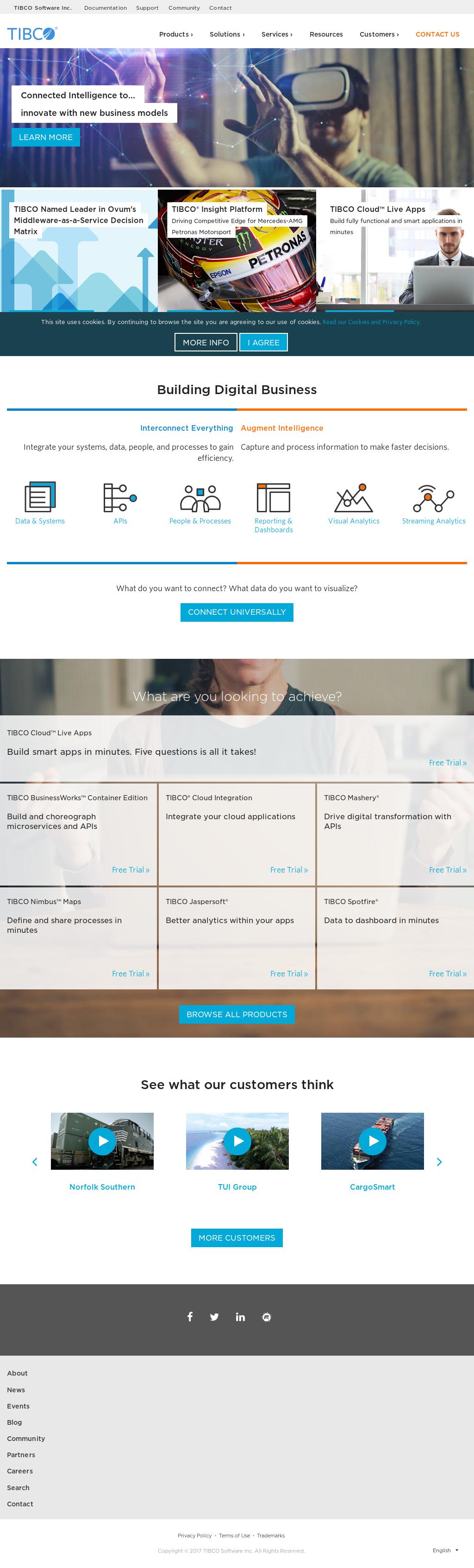TIBCO Competitors, Revenue and Employees - Owler Company Profile