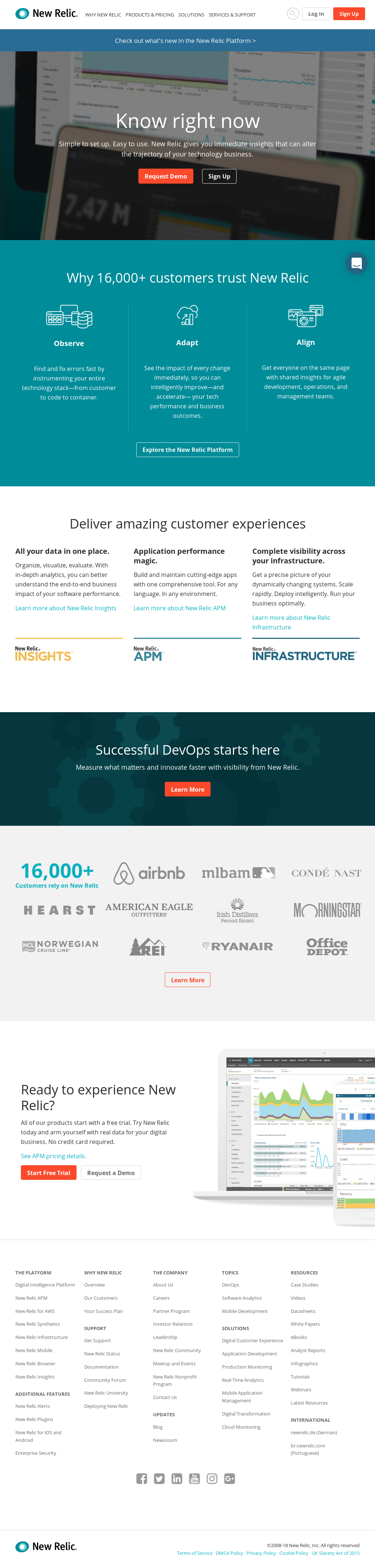 New Relic Competitors, Revenue and Employees - Owler Company