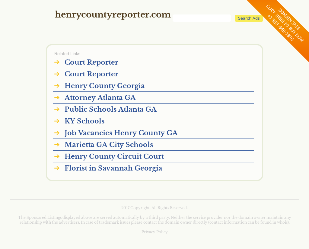 The Henry County Reporter Competitors, Revenue and Employees