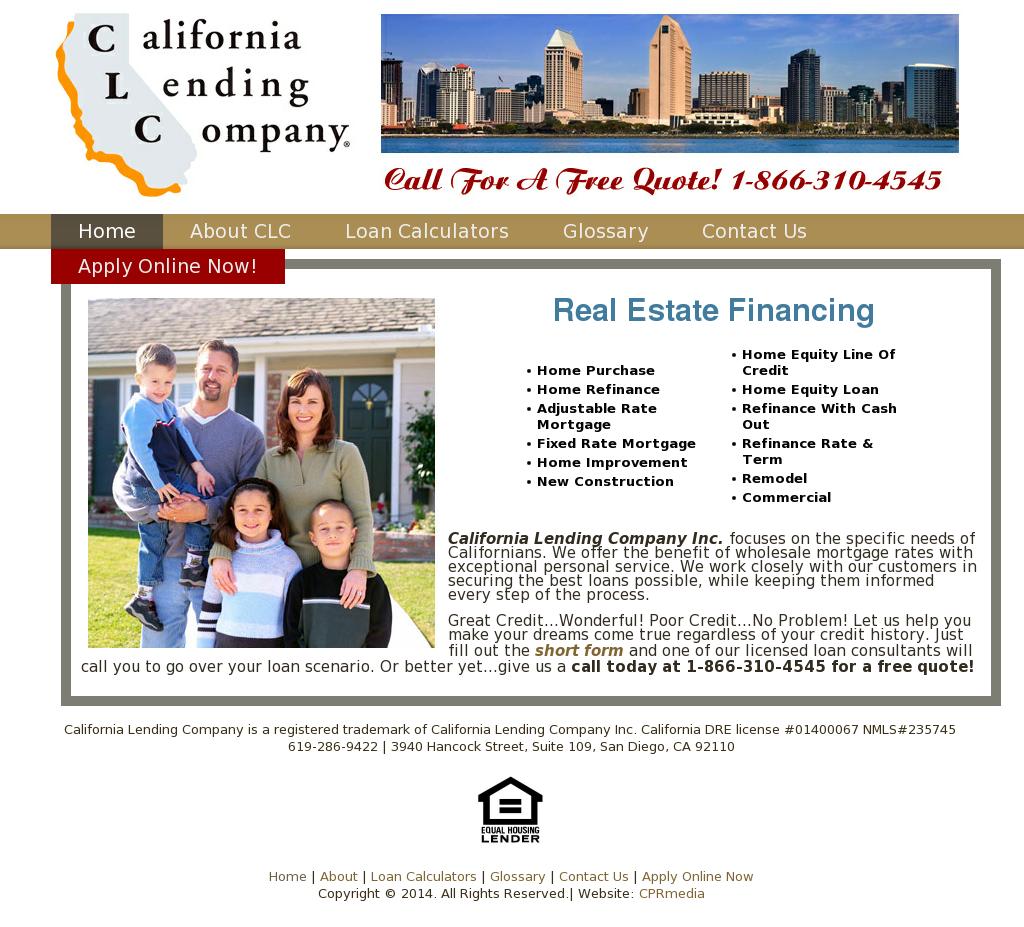 California Lending Company Competitors, Revenue and