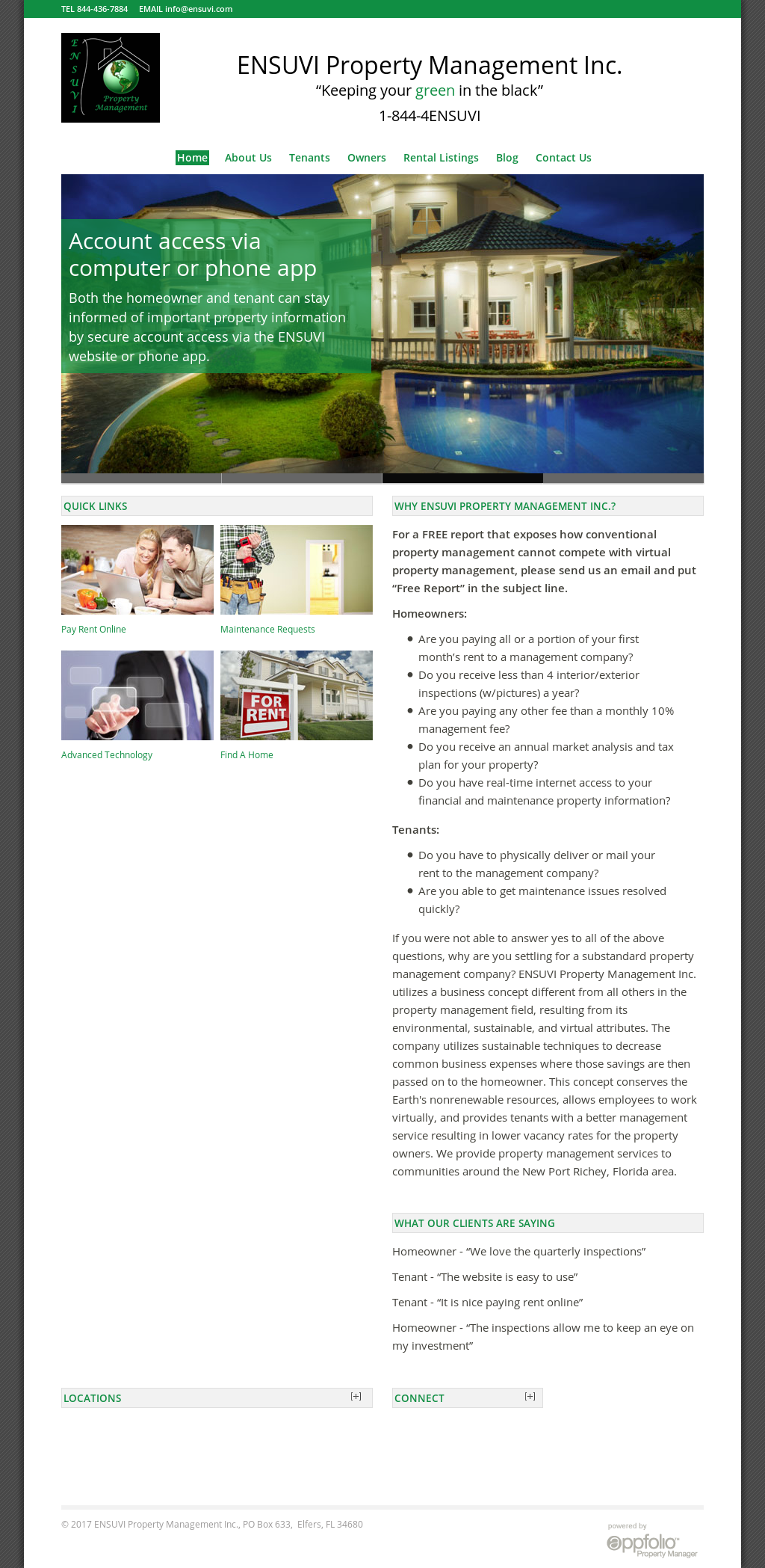 property management company profile pdf