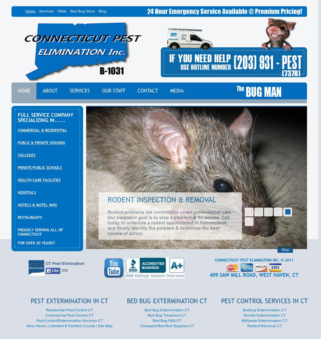 Connecticut Pest Elimination Competitors, Revenue and Employees