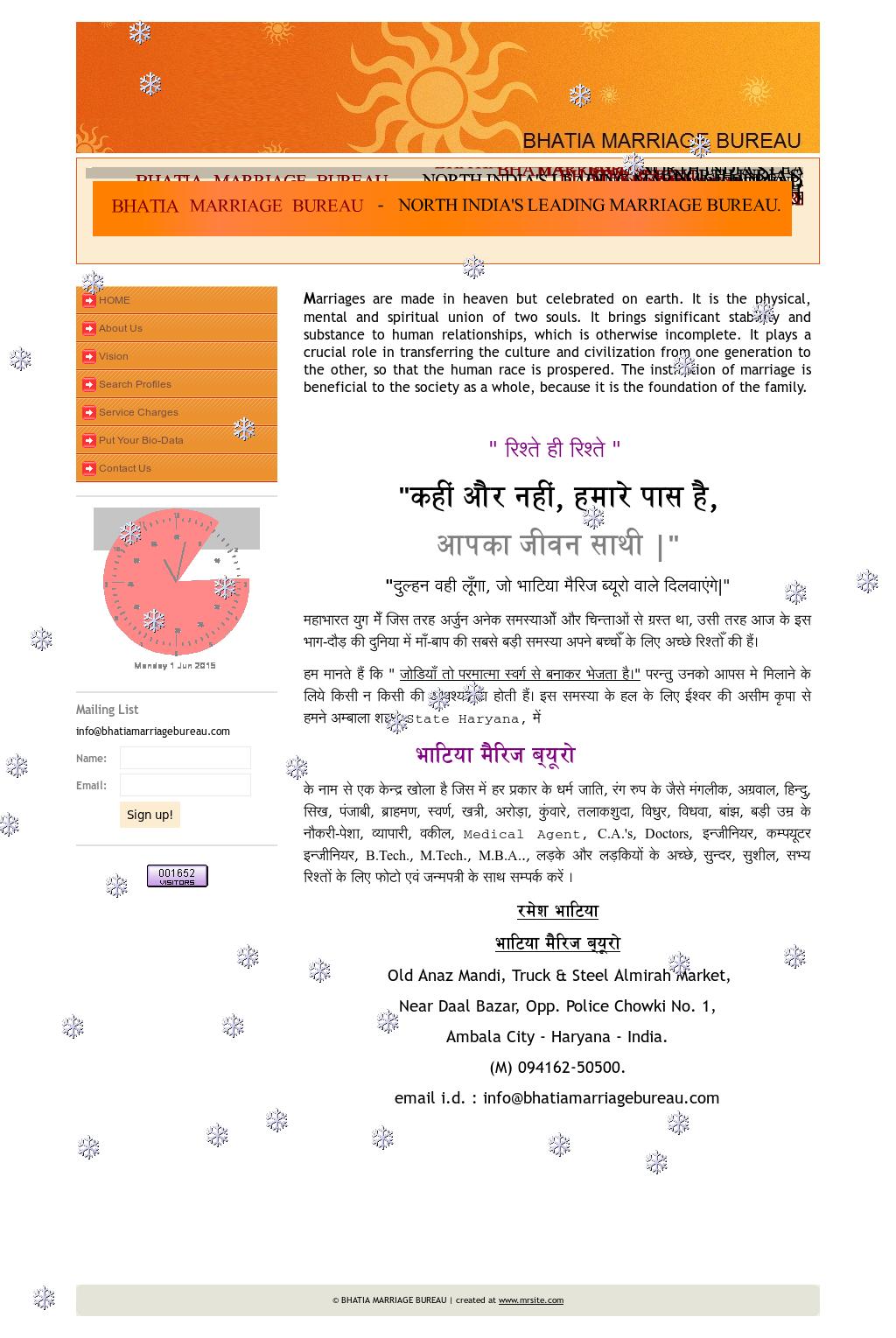 Bhatia Marriage Bureau Competitors, Revenue and Employees - Owler