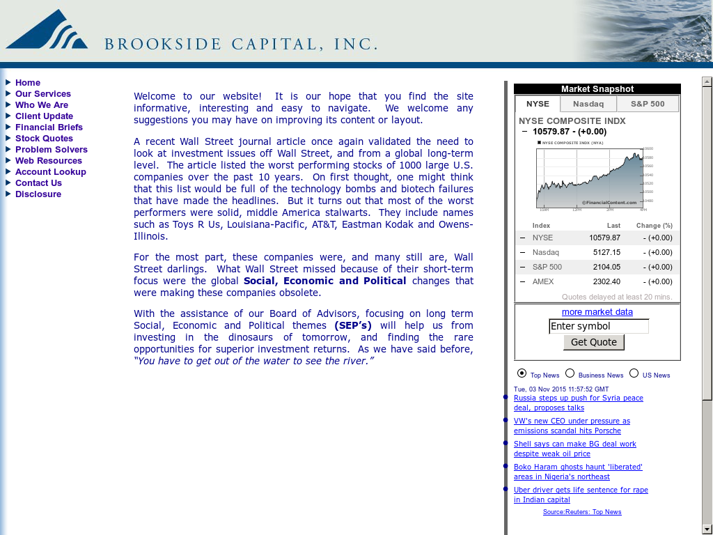Brooksidecapital Competitors Revenue And Employees Owler Company