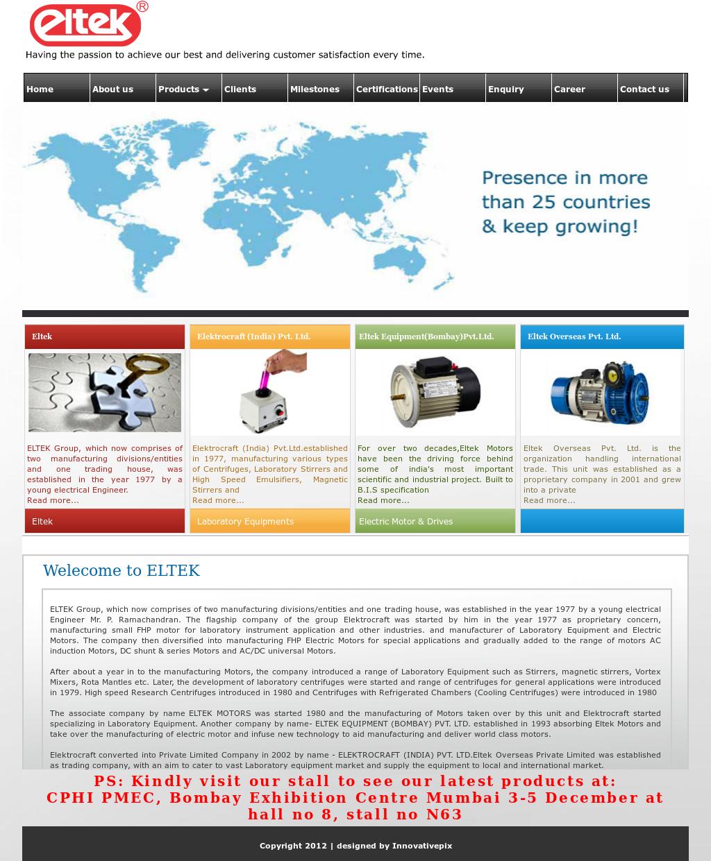 Eltek Equipment (Bom) Competitors, Revenue and Employees