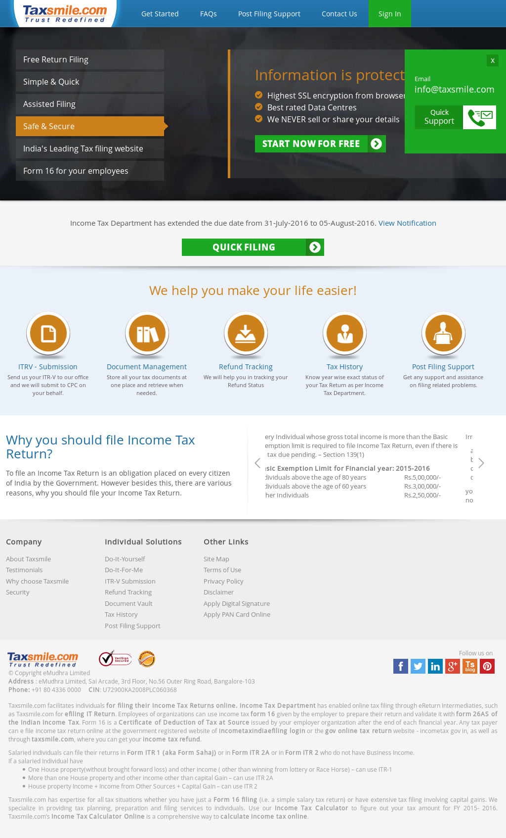 Taxsmile competitors revenue and employees owler company profile solutioingenieria Image collections