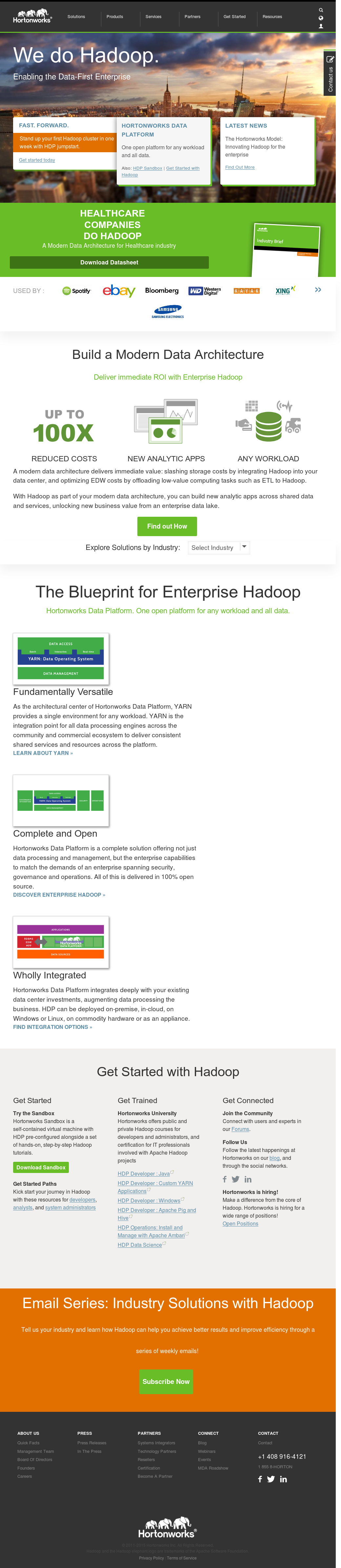 Hortonworks Competitors Revenue And Employees Owler Company Profile