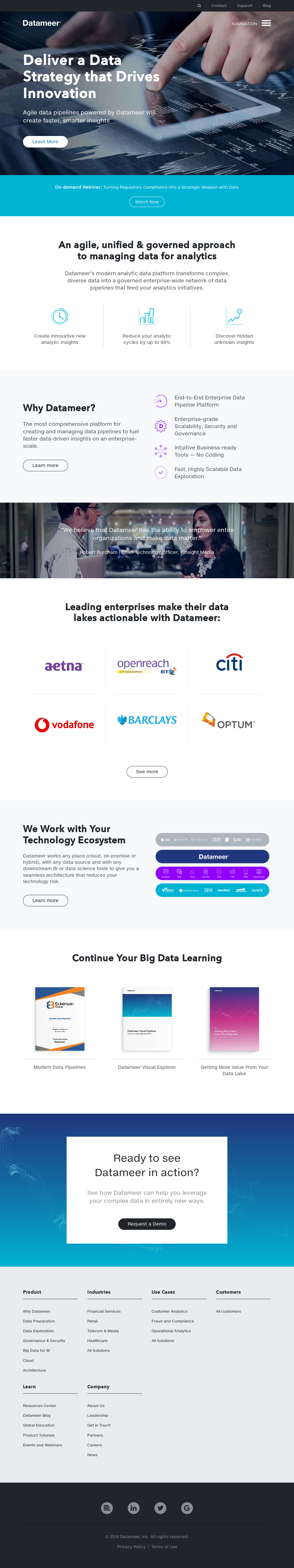 Datameer Competitors, Revenue and Employees - Owler Company