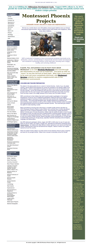 Montessori Phoenix Projects Competitors, Revenue and